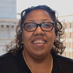 A photo of Andrea Laing, Director of Diversity & Inclusion at MassHousing